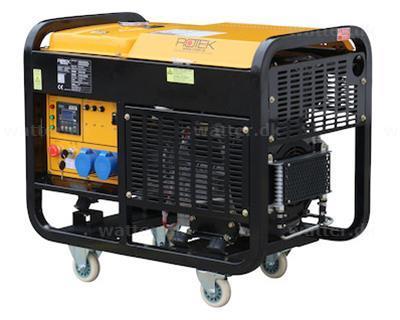 Rotek GD4-1A-13000-ES Diesel Generator 230V / 2-cylinder 13,7 kVA