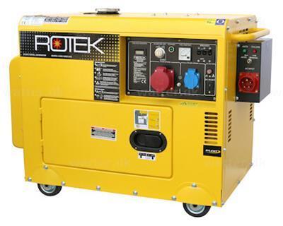 Rotek GD4SS-3-6000-5EBWZ-ATS Diesel Generator 400(230)V 5,5(1,8) KVA m. ATS
