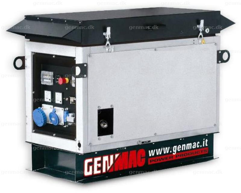 Genmac Whisper Gas Generator 9,8 kW