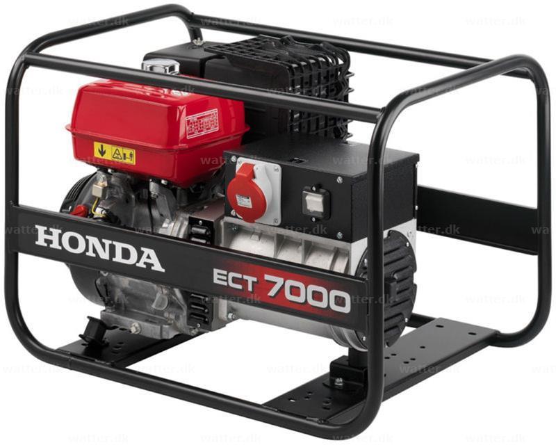 Honda ECT7000 generator benzin 6,5 kVA