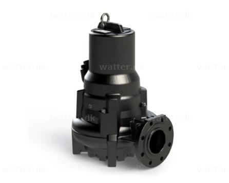 Hydropompe 1024/22 dykpumpe 400V 2100 l/min 2,8 kW