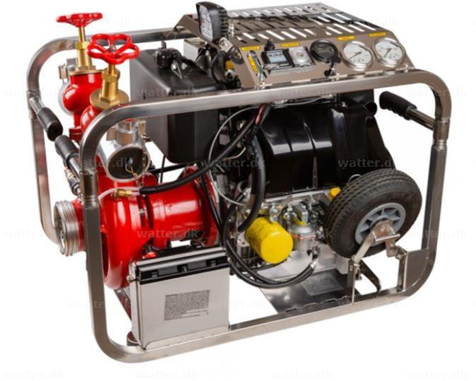 Marine brandpumpe EFP-1400-200