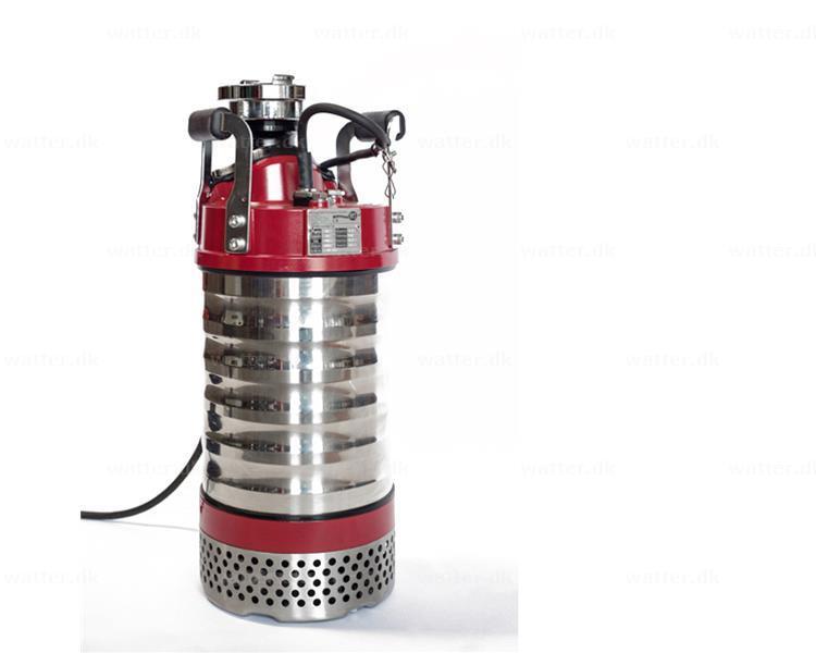 SPT entreprenørpumpe SPT P 437 400V 1400 l/min 3,7 kW