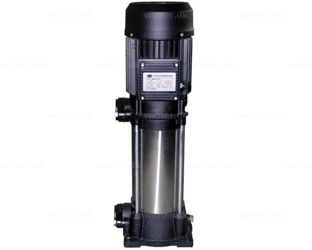 PYD verti254P centrifugalpumpe 0,75 kW 71,6 l/min
