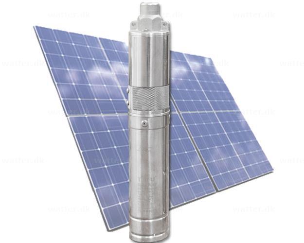 PYD 4TSSC4.0 solcelle pumpe 48V 4 m3/h