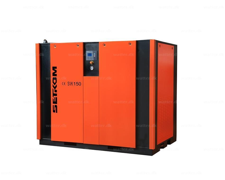 SETKOM, SVK150, Skruekompressor / 110kW, 78Db