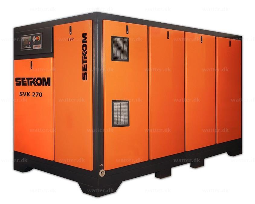 SETKOM, SVK270, Skruekompressor / 200kW, 79Db