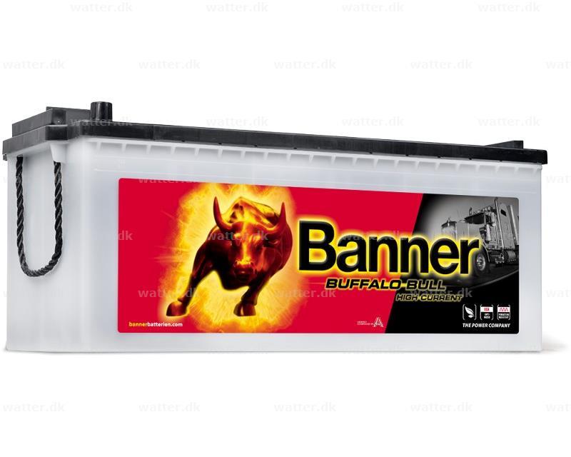 Banner Buffalo bull batteri 680 11