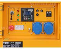 Rotek Diesel Generator 230 Volt/1-faset, 13,7 kVA