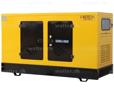 Rotek Diesel Generator 400 Volt/3-faset, 62 kVA
