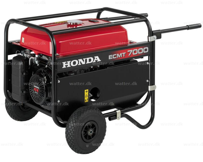 honda ecmt 7000 generator benzin 6 5 kva watter dk