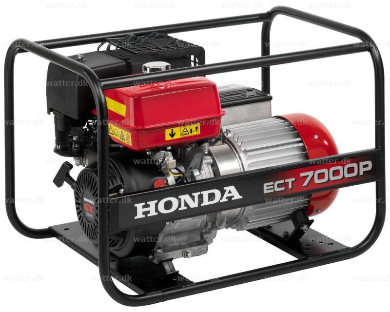 Honda ECT7000 P generator benzin 6,5 kVA