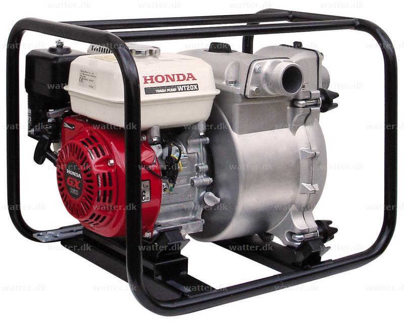 """Honda WT20 X pumpe benzin 2"""""""