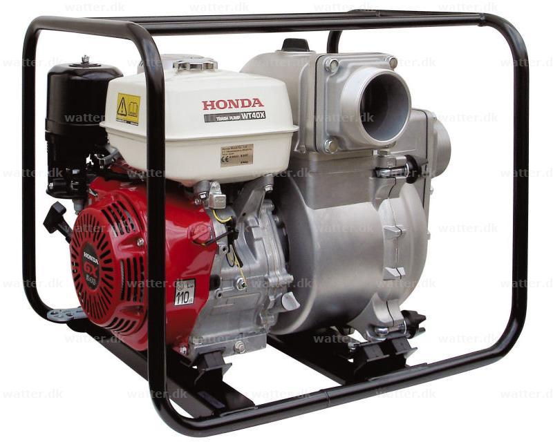 Honda WT40 X Pumpe Benzin 4