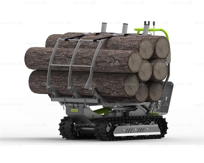 Ramme til træstamme transport