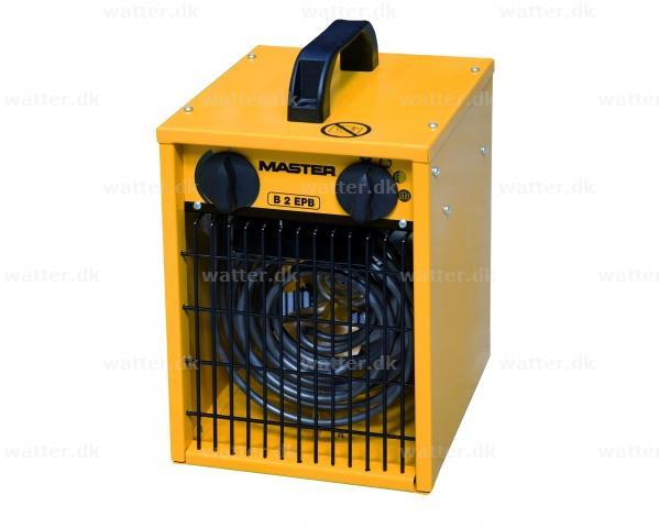 Master B2 el varmeovn 2 kW