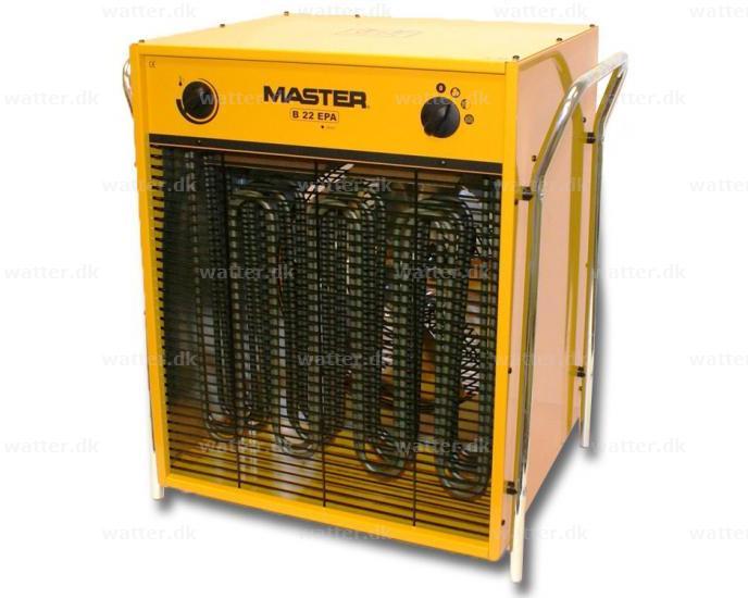 Master B22 el varmeovn 22 kW