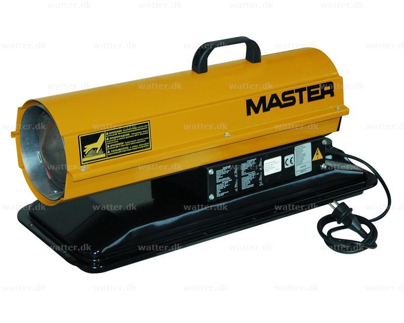 Master B 35 CED varmekanon diesel/petroleum