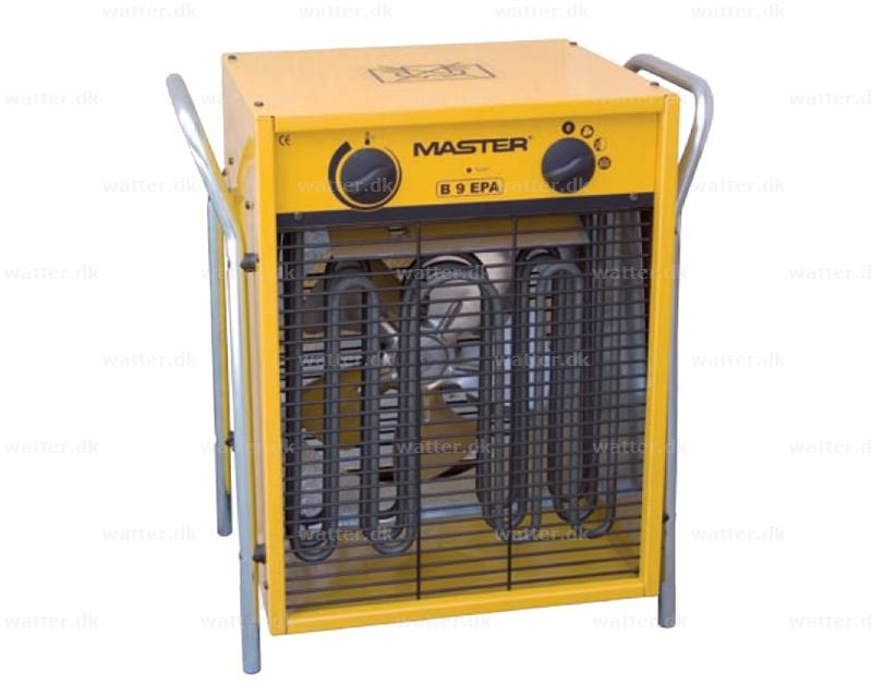 Master B9 el varmeovn 9 kW