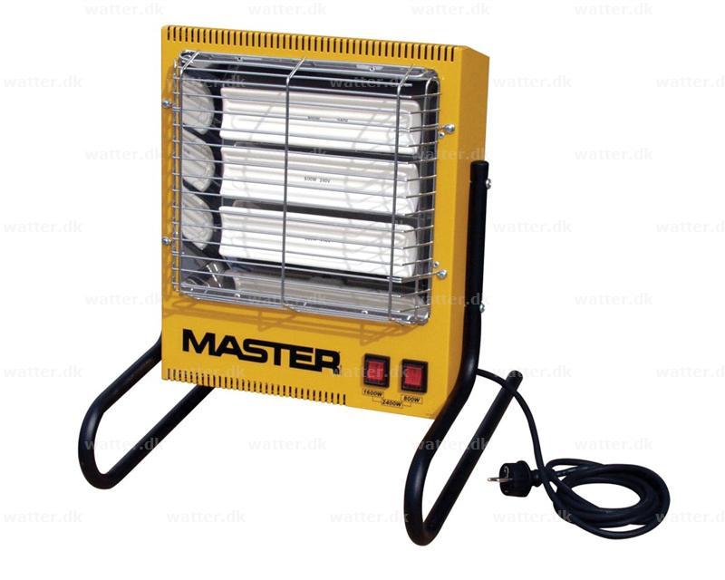 Master TS 3 A infrarød stråler