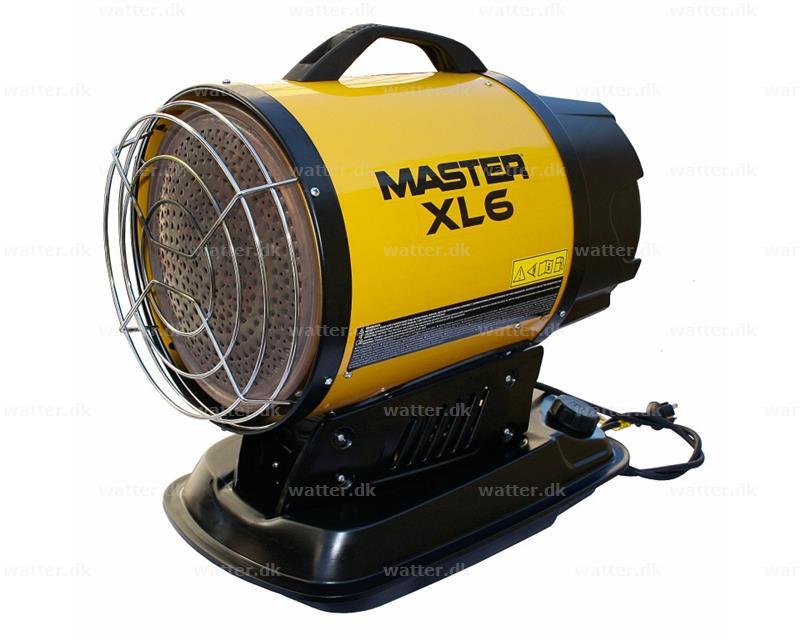 Master XL 6 infrarød varmer