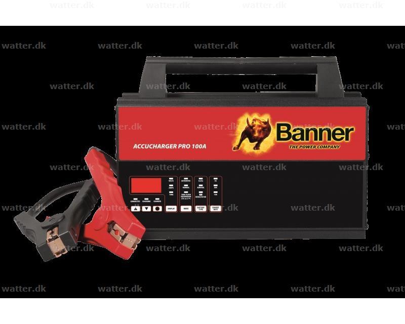 Banner oplader Pro 100A
