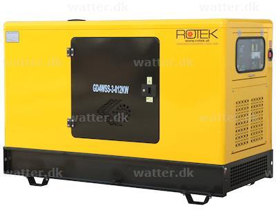 Rotek diesel generator 400V 50Hz