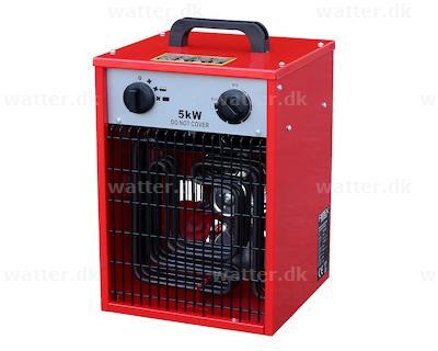Rotek elvarmer 5 kW