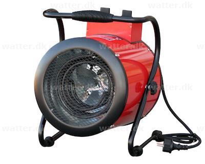 Rotek elvarmer 3 kW