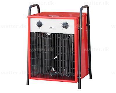Rotek elvarmer 22 kW