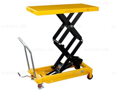Rotek løftebord med 700 kg kapacitet og 1500 mm bordhøjde