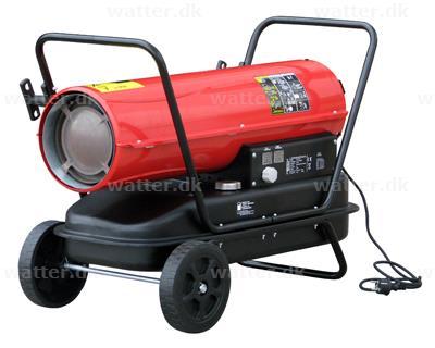 Rotek varmekanon 30 kW diesel