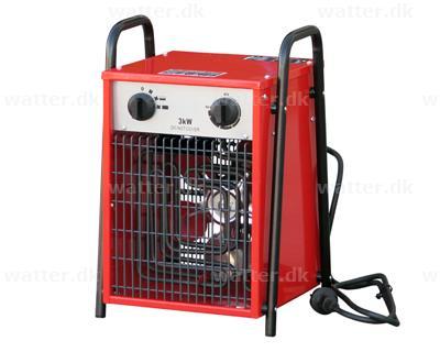 Rotek varmeovn 3 kW