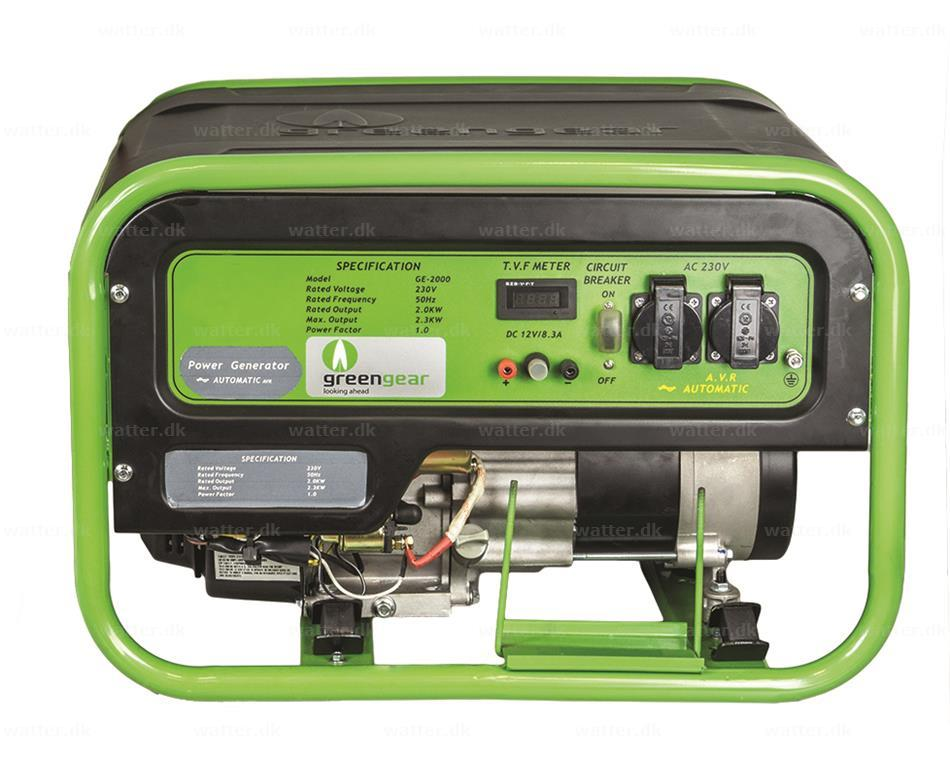 Greengear Gas Generator 2,3 kW