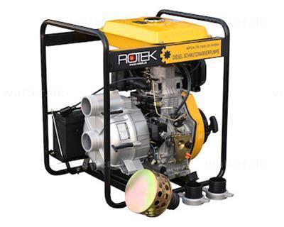 """Rotek diesel pumpe 3"""""""
