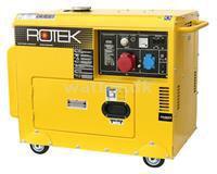 Rotek Diesel Generator 400(230) Volt 50 Hz/3-Faset 5,5(1,8) KVA