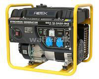 Rotek Benzin Generator 230 Volt 50 Hz/1-Faset, 3,4 KVA