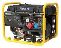 Rotek Benzin Generator 400 Volt 50 Hz 7,3 kVA 3-faset