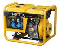 Rotek Diesel Generator 230 Volt/1-faset, 3,6 kVA