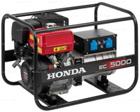 Honda EC5000 generator benzin 4,5 kVA