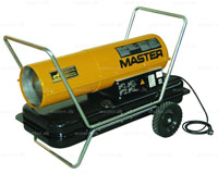 Master B 150 CED varmekanon diesel/petroleum