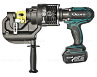 Ogura HPC-N208WDF akku stansemaskine 20x6mm