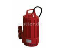 Entreprenør Dykpumpe 1,5 230 V(400 V)
