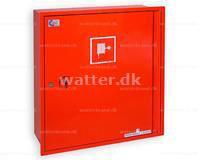 Slangeskab Type 20 vægmonteret rød