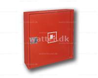 Slangeskab Type 25 vægmonteret rød